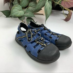 Hush Puppies Blue Water Shoes size 10